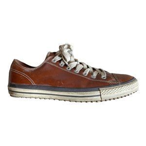 Converse All Star Hollis brown leather low Top 11